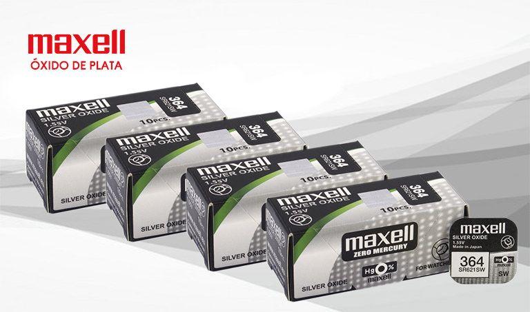 Pilas Vini trading maxel óxido de plata